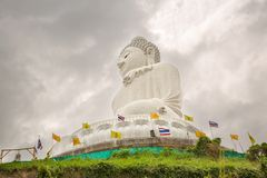 Monumento grande da Buda na ilha de Phuket em Tailândia Foto de Stock Royalty Free
