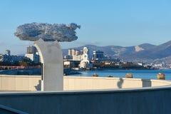 Monumento Hamsa fotografia de stock royalty free