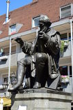 Monumento a Hans Sachs en Nuremberg, Alemania Fotos de archivo libres de regalías