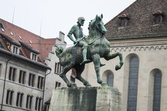 Monumento a Hans Waldmann Imagenes de archivo