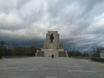Monumento i Praga in Zizkow Immagini Stock