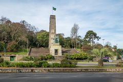 Monumento imigrante - Caxias faz Sul, Rio Grande do Sul, Brasil Fotografia de Stock