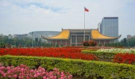 Monumento importante en la ciudad de Taipei Fotografía de archivo libre de regalías