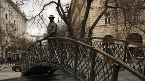 Monumento Imre Nagy Imágenes de archivo libres de regalías