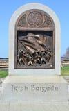 Monumento irlandese della brigata - campo di battaglia nazionale di Antietam Immagini Stock