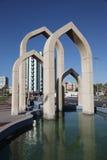 Monumento islamico in Ajman Fotografie Stock Libere da Diritti