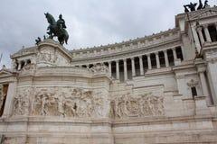 Monumento italiano Vittorio Emanuele Foto de archivo libre de regalías