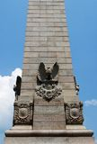 Monumento in Jamestown Fotografie Stock Libere da Diritti