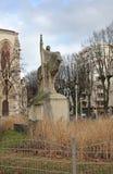 Monumento a Janna Dark en Lyon francia Fotos de archivo