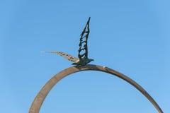 Monumento Jonathan Livingston - S Bendetto del Tronto - las TIC foto de archivo