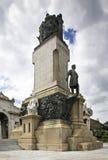 Monumento a Jose Gomez a Avana cuba Immagini Stock