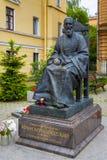 Monumento a Juan de Kronstadt Fotos de archivo libres de regalías