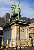 Monumento Juan Wilhelm en Düsseldorf Fotos de archivo libres de regalías