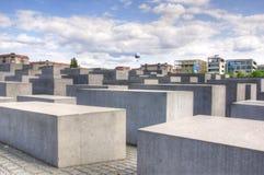 Monumento judío de Berlín Fotos de archivo libres de regalías