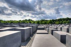 Monumento judío de Berlín Imagenes de archivo