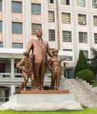 Monumento a Kim Il Sung en Pyongyang Fotografía de archivo libre de regalías