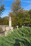 Monumento a Kniaz Milão na fortaleza da cidade de Nis, Sérvia Imagens de Stock