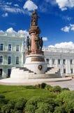 Monumento a la catherine II Imagen de archivo libre de regalías
