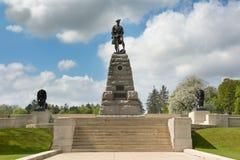Monumento a la 51.a división de la montaña Fotografía de archivo libre de regalías