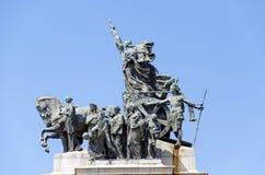 Monumento a la independencia del Brasil Imágenes de archivo libres de regalías