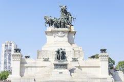 Monumento a la independencia del Brasil Imagenes de archivo