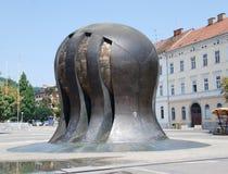 Monumento a la lucha de la liberación de la gente Foto de archivo