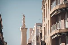 Monumento a La Purisima Concepcion. Torrevieja, Spain Royalty Free Stock Photography