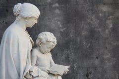 Monumento in La Recoleta Cementery a Buenos Aires Fotografia Stock