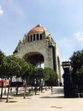 Monumento a la revolución mexicana Imagen de archivo libre de regalías
