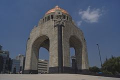 Monumento la revolucion 免版税库存图片