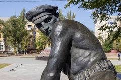 Monumento la tomba di massa dei marinai dei partecipanti Immagini Stock Libere da Diritti