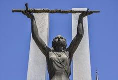 Monumento a la victoria en Toledo, España Foto de archivo libre de regalías