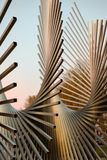 Monumento a las Américas Escultura en Burgos foto de archivo libre de regalías
