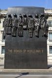 Monumento a las mujeres de la Segunda Guerra Mundial Imagen de archivo libre de regalías