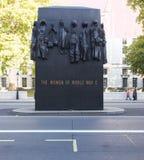 Monumento a las mujeres de la Segunda Guerra Mundial, Londres, Inglaterra fotos de archivo libres de regalías