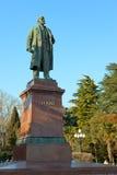 Monumento a Lenin. foto de archivo