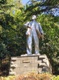 Monumento a Lenin em Rússia foto de stock