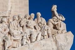 Monumento Lisboa das descobertas Imagens de Stock