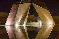 Monumento Lisboa que paga un tributo a los muertos en la guerra Foto de archivo libre de regalías