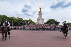 Monumento Londres de Victoria Imagen de archivo libre de regalías