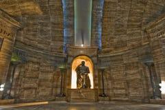 Monumento los angeles Bandera lokalizować przy Rosario Obraz Royalty Free