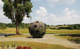 Monumento a los ascensionistas Fotos de archivo