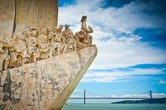 Monumento a los descubrimientos Fotografía de archivo