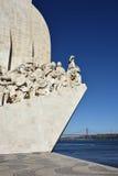 Monumento a los descubrimientos Lisboa Portugal Imágenes de archivo libres de regalías