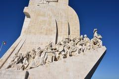 Monumento a los descubrimientos Lisboa Portugal Fotos de archivo libres de regalías