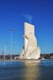 Monumento a los descubrimientos Lisboa Portugal Imagen de archivo
