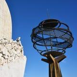 Monumento a los descubrimientos Lisboa Portugal Foto de archivo