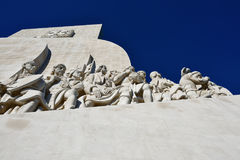 Monumento a los descubrimientos Lisboa Portugal Fotografía de archivo libre de regalías