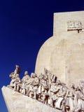Monumento a los descubrimientos portugueses imágenes de archivo libres de regalías
