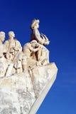 Monumento a los descubrimientos portugueses del mar, Lisboa, Portugal Imagenes de archivo